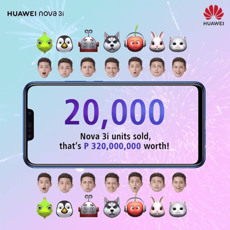 Huawei Nova 3i Sold 20,000 Units in Just 1 Day!