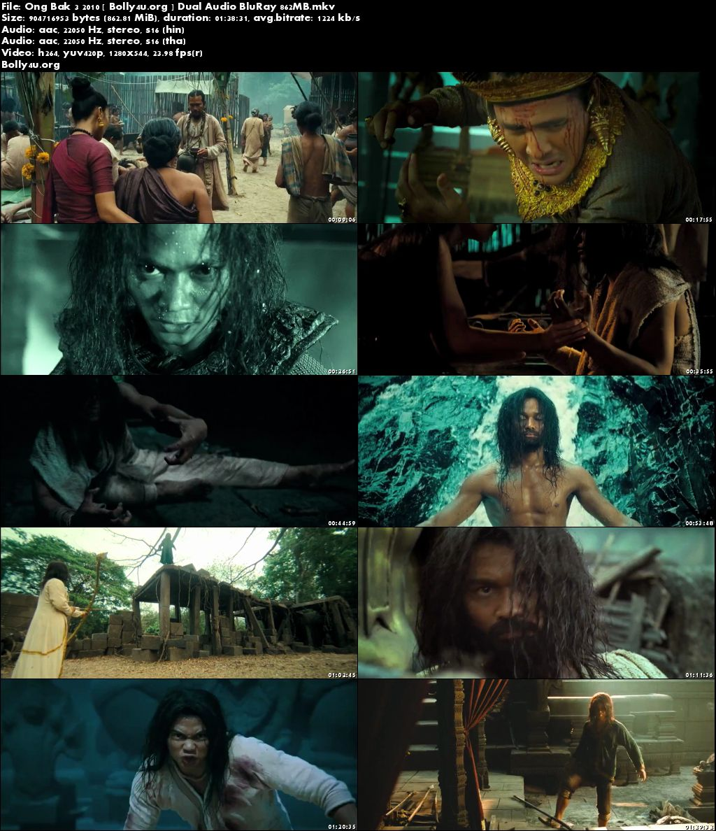 Ong Bak 3 2010 BluRay 850MB Hindi Dual Audio 720p Download