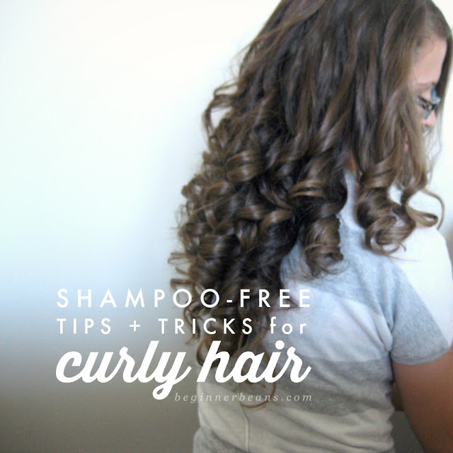 Curly-Haired Girl's Testimonial to No 'Poo (going shampoo-free)