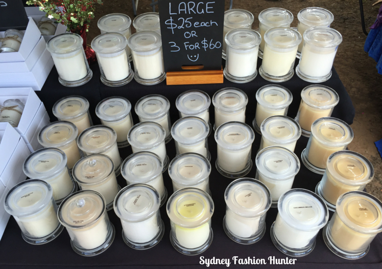 Hand Made Hunter Markets: Julz Soy Candles & Melts
