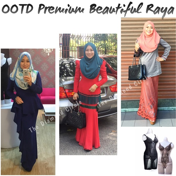 ootd premium beautiful raya 2017