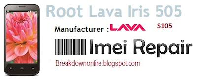 Cara Root Android Lava Iris 505 S105 Menggunakan iRoot