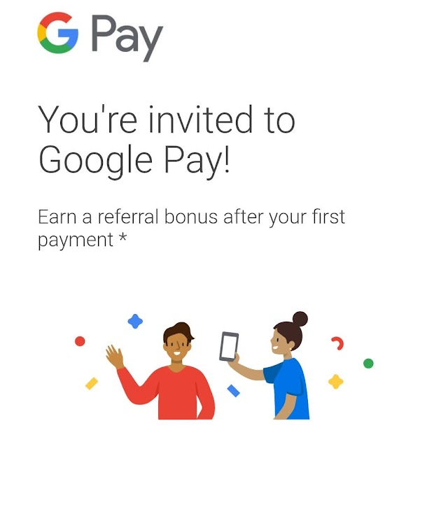 Use Google Pay referral code -Bq8yi & Get ₹21 Referral Bonus