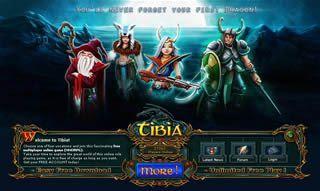 Download Tibia 9.80 free RPG game
