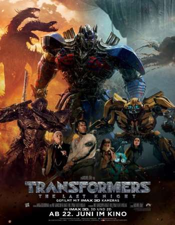 Transformers The Last Knight 2017 Dual Audio Hindi ORG BluRay 480p 250Mb x265 HEVC