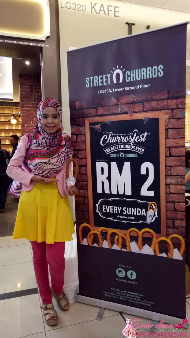 Promosi Churros RM2 di 1 Utama Shopping Centre dan IOI Mall Putrajaya
