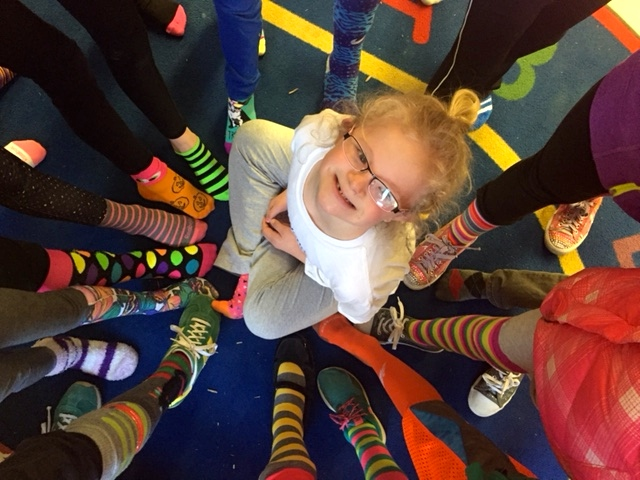 World Down Syndrome Day - First Grade Roars!