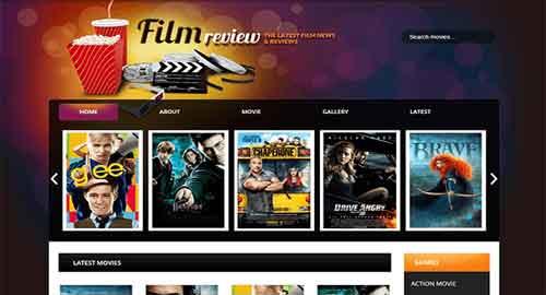 Film Reviews Blogger Template