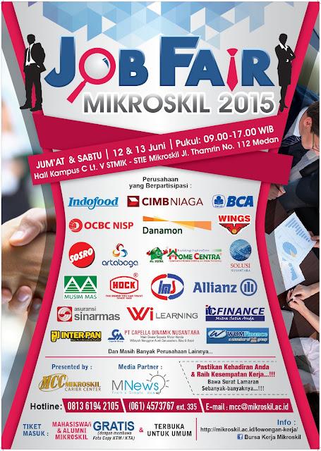 Job Fair Mikroskil 2015