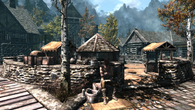 The Art Of Architecture Skyrim Architecture Riften