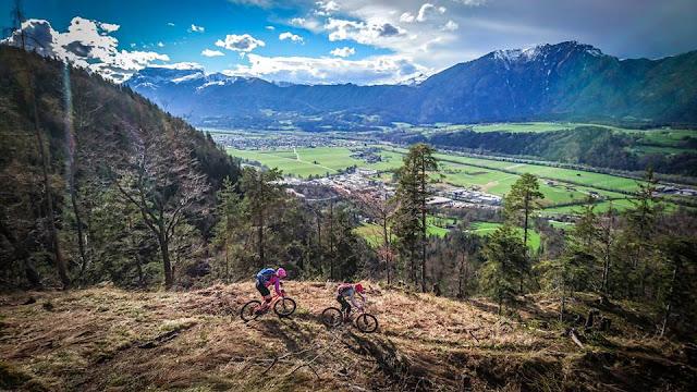 Gasthaus Schöne Aussicht in Rettenschöß Wörgl Mountainbike E-Bike MTB