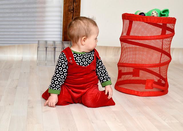 Kleinkinder-Einteiler-Hose nähen, Schnittmuster
