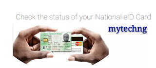 How To Check If Your Nigeria Plastic National ID is Available Online price in nigeria