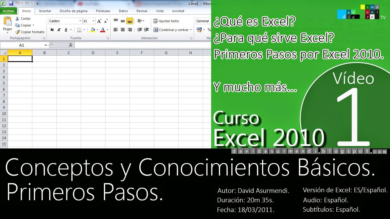 Curso Basico Excel 2010