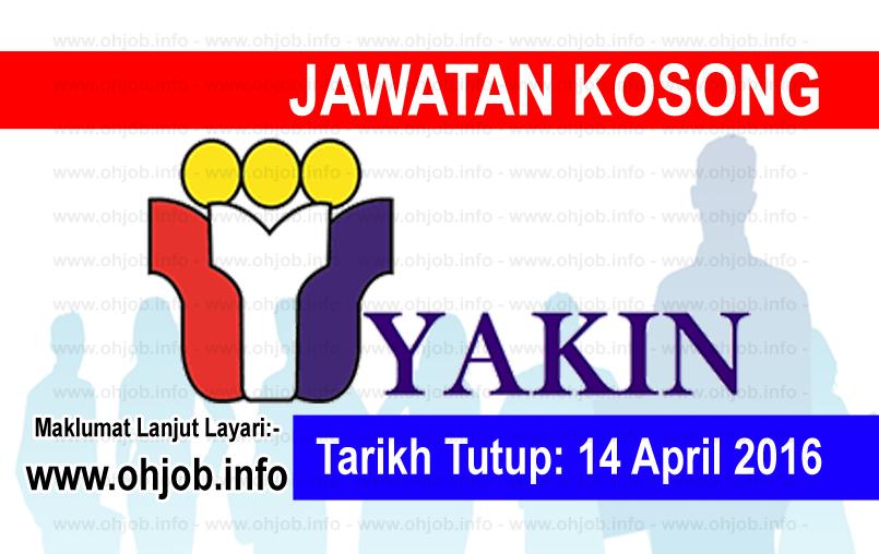 Jawatan Kerja Kosong Yayasan Kemajuan Islam Nasional (YAKIN) logo www.ohjob.info april 2016