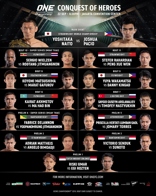 One Championship 80 Results : Conquest Of Heroes Full Card