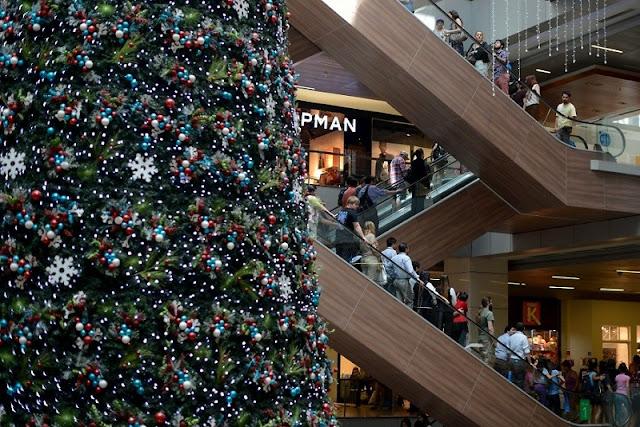 Compras em Santiago no mês de dezembro