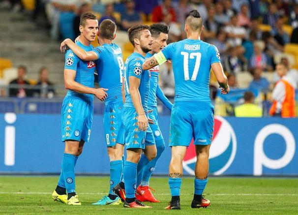 Napoli estreia muito bem na UCL 2016-17