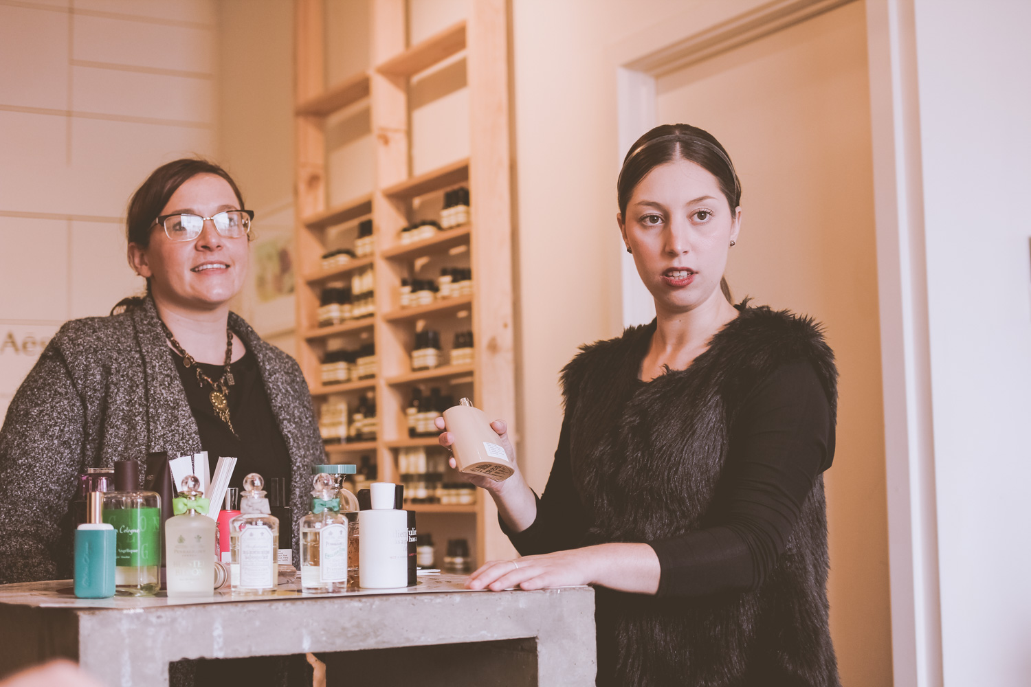 Liana of @findingfemme visits Sweet Fern perfumery in Ballarat