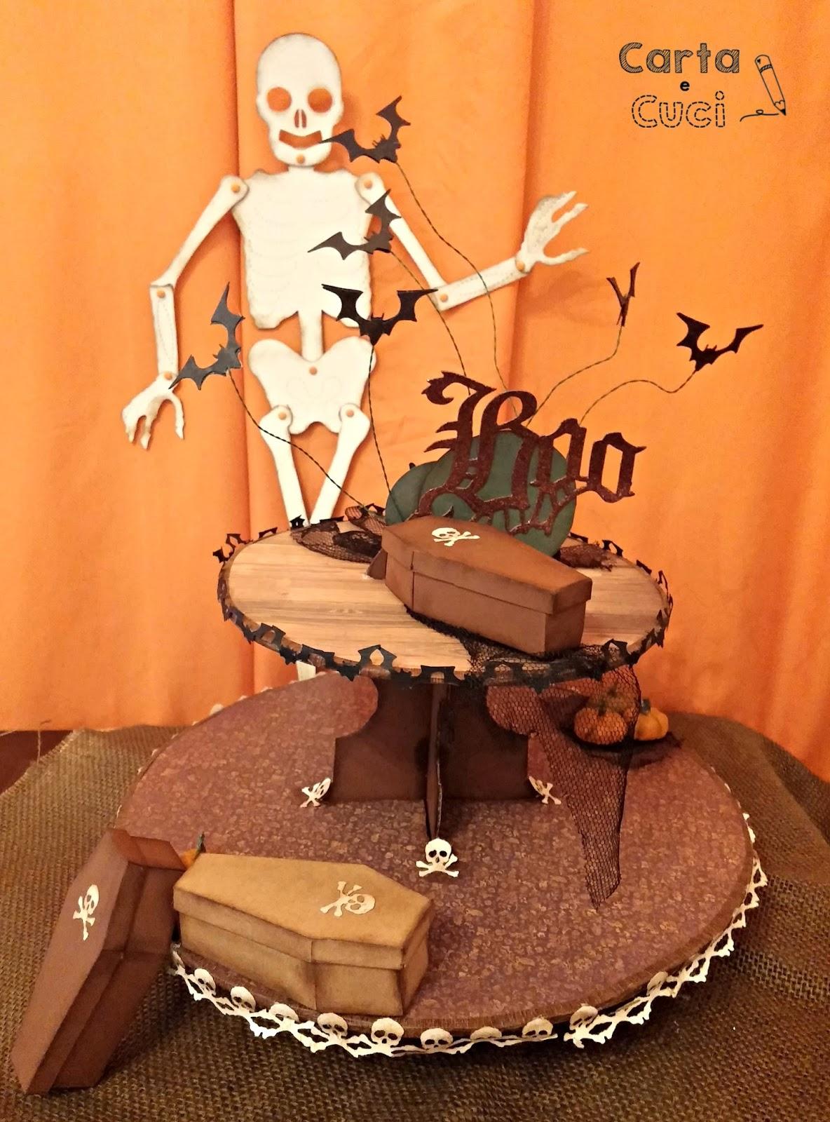 Carta e Cuci: Boo (L'Alzatina per i Dolcetti di Halloween)