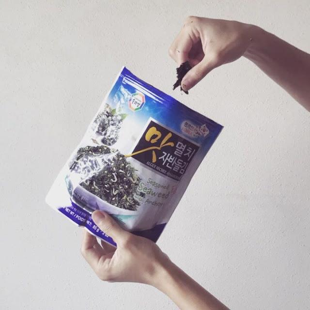 Review: Surasang Seasoned Seaweed with Anchovy 韓式原味炒海苔(鳳尾魚)