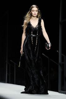 Gigi Hadid At Bottega Veneta Catwalk At New York Fashion Week 2018