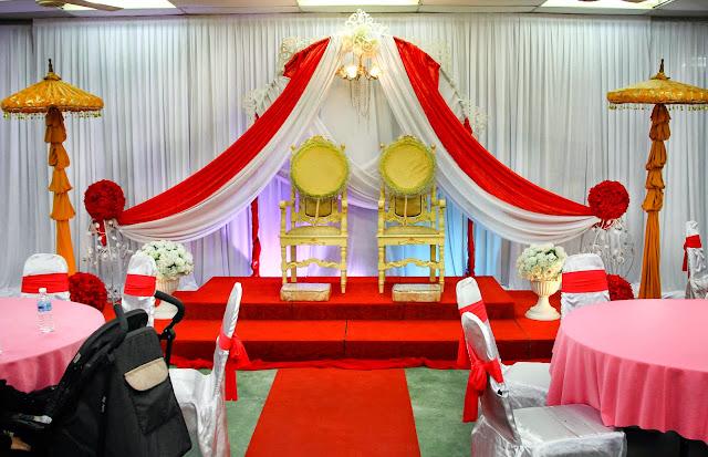 Pelamin di Dewan Lily Agrofarmstay - Pakej Perkahwinan