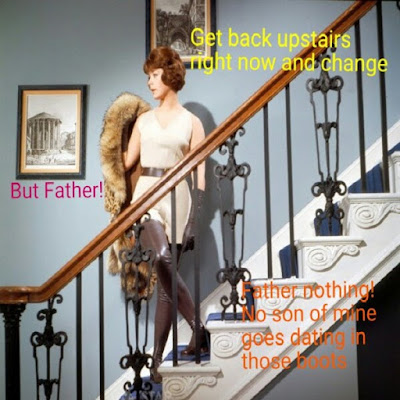 Go back upstairs - Sissy Tg Captions