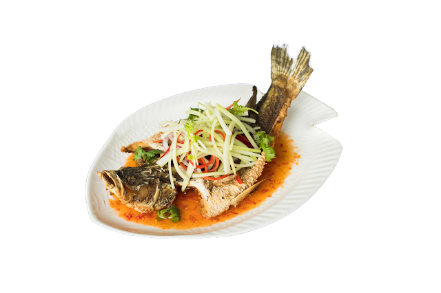 Chef Tiger's Seabass with Thai Spicy Sauce