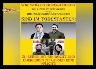 Avrupa Süryani Halk Meclisleri, faşist Türkiye devleti tarafında gözaltına tutulmakta olan Grup Yorumun, Halkın Avukatlarının ve gözaltında olan siyasi mahkumlarının serbest bırakılmasını talep ediyor.
