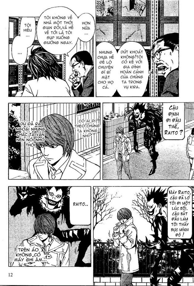 Death Note chapter 016 trang 13