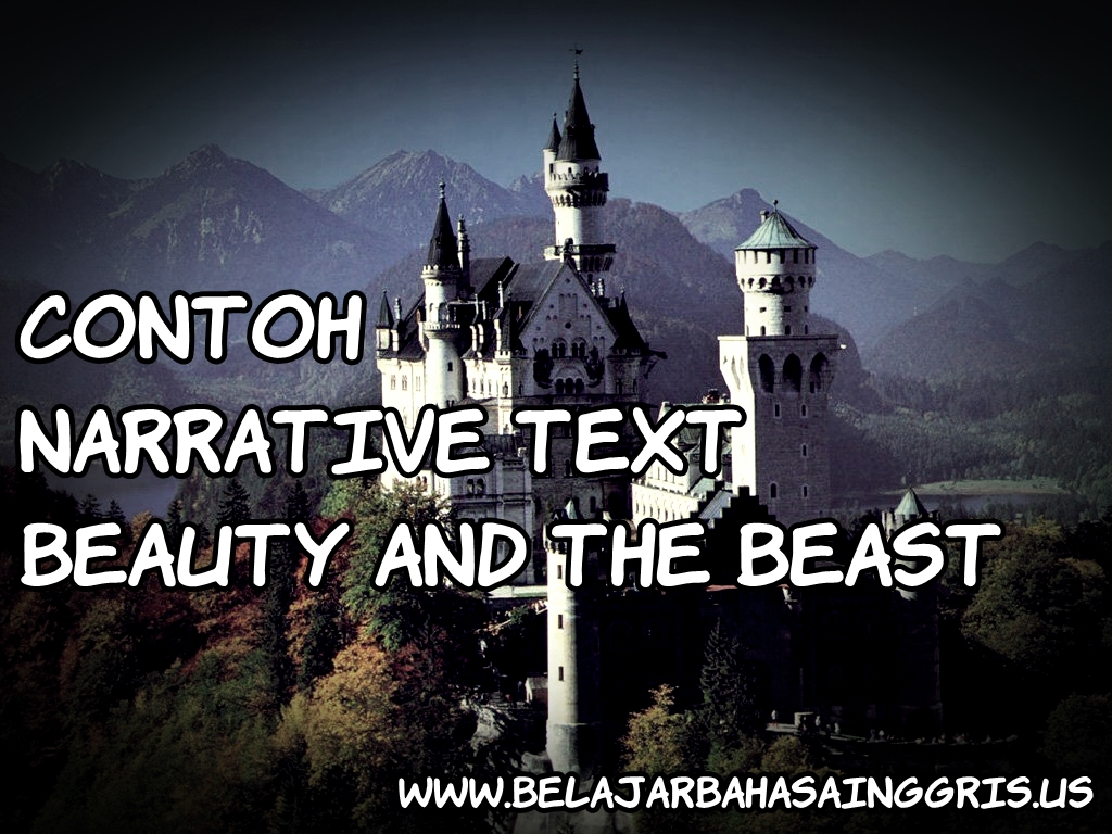 Beauty And Beast Text