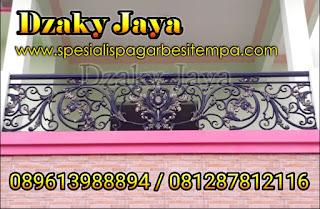Model Blkon Mewah untuk Rumah, Railing Balkon Tempa Mewah