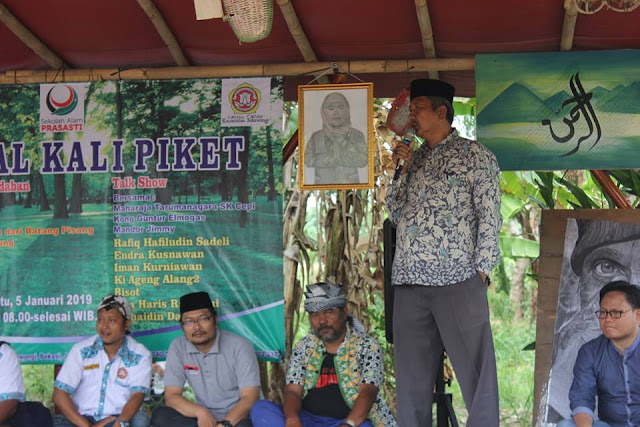 Sekolah Alam Prasasti Launching Pondok Pesantren Adabul Muqarromah