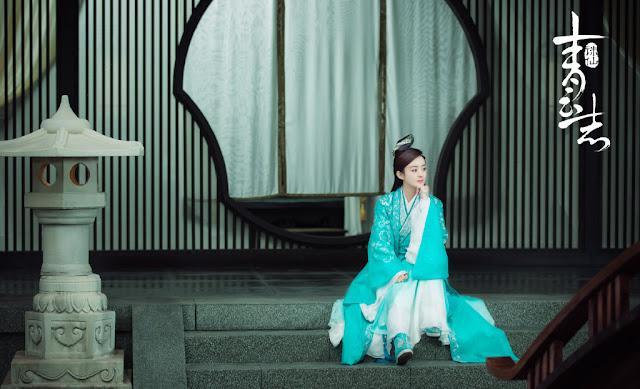 Zhao Li Yin in Chinese fantasy wuxia Legend of Chusen