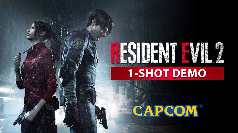 resident evil 2 1 shot demo capcom ps4 xbox one
