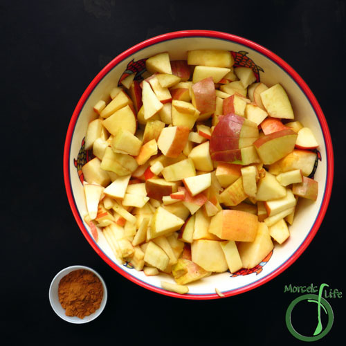 Morsels of Life - Cinnamon Applesauce Step 1 - Gather all materials.