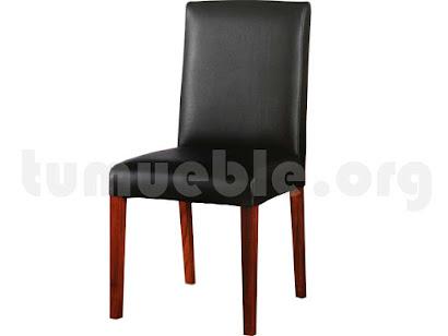 silla comedor tapizada 4140