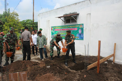 Dandim Kediri Resmikan Pembangunan Mushala di Plemahan