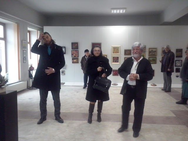 Vernisajul Salonului Național de Plastică Mică Brăila, ediția a XlX-a, 2018, la Galeria de Artă Brăila