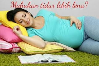 5 Tips Buat Ibu Mengandung Mahu Tidur Lebih Lena !