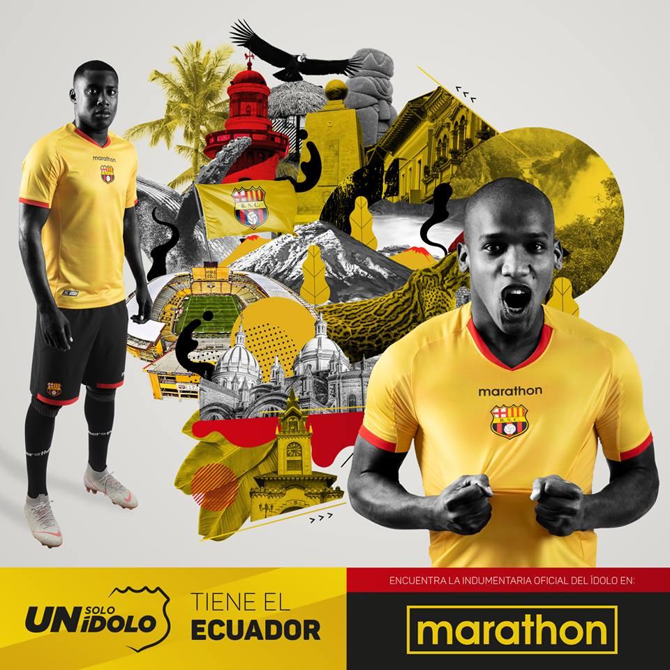 Nueva camiseta oficial 2019 de BARCELONA SPORTING CLUB 677c9e1d3fb