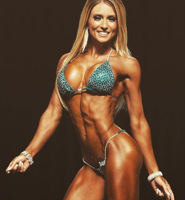 Fitness Model Alyssa Germeroth Alyssa Germeroth IFBB Bikini