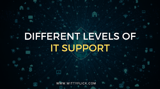 Different Levels of IT Support