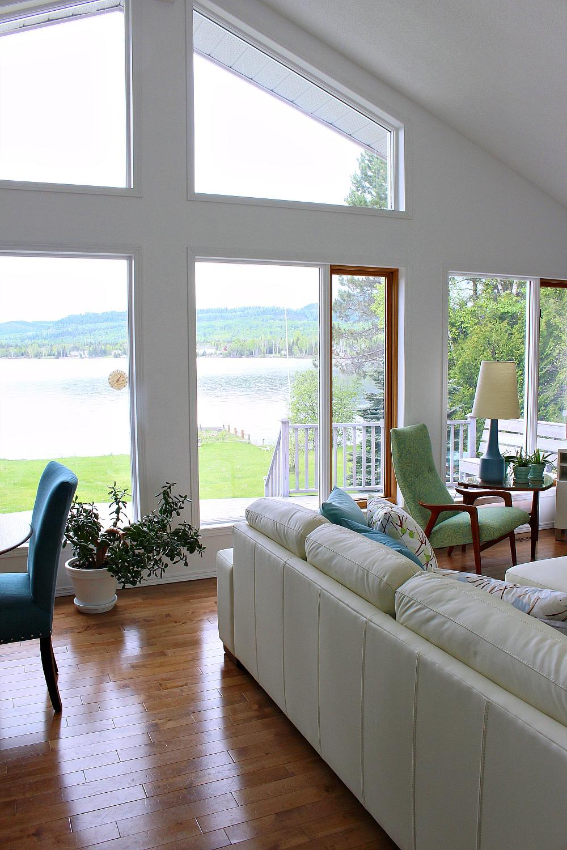 Modern Lake House View of Lake Superior