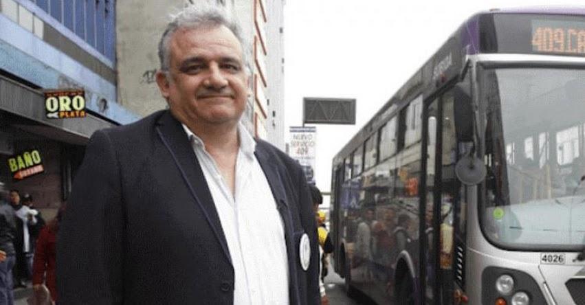 MTC: Nuevo Ministro de Transportes y Comunicaciones sería Gustavo Guerra García