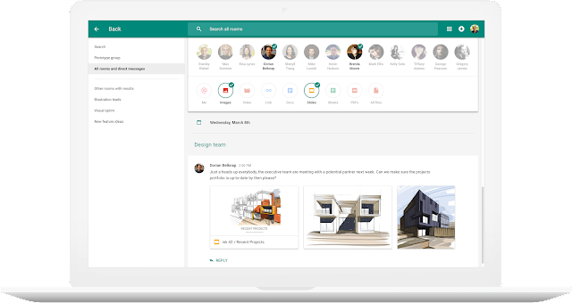 Hangouts Meet and Hangouts Chat apps officially from Google