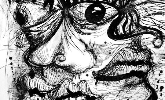 Ilustración, Morfografía #2 de Héctor Pineda aka Topolocko