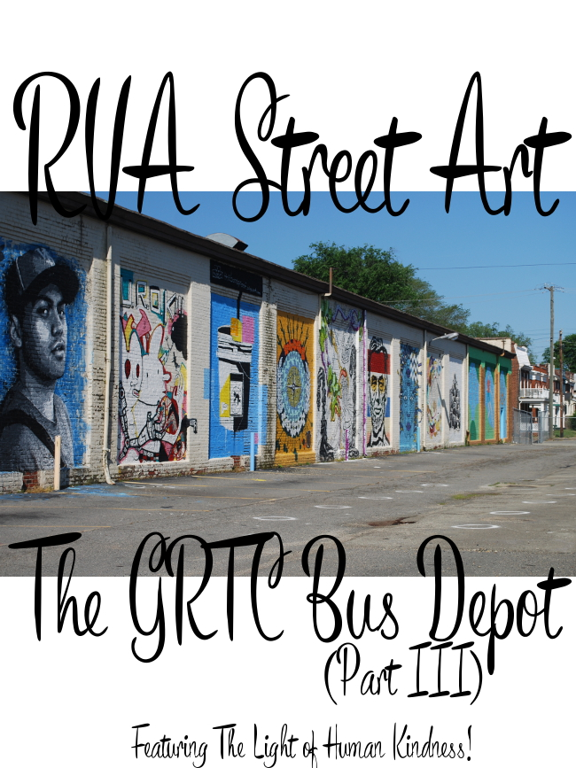 RVA Street Art: The GRTC Bus Depot (Part III) | Yeti Crafts