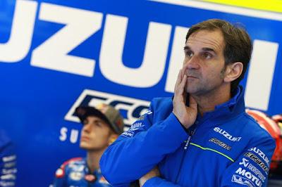 Suzuki Berharap Iannone Lebih Sangar dari Vinales